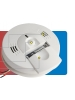 Kidde 900-0119 KN-COSM-IBACA- Talking Smoke and Carbon Monoxide Alarm - Detects Flaming Fires and/or CO Hazard - Voice Message Warning - 120V Wire-in with Battery Backup - Interconnectable